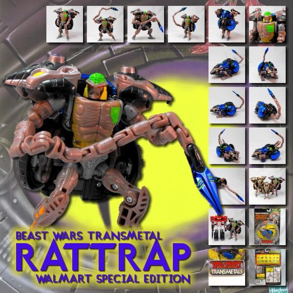 Beast Wars Rattrap Walmart Exclusive
