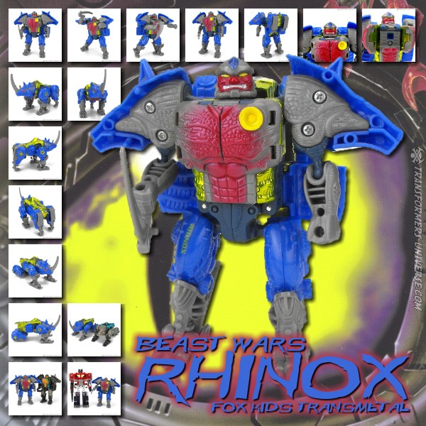 Beast Wars  Rhinox Fox Kids (1999)