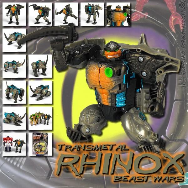 Beast Wars Transmetal Rhinox (D)
