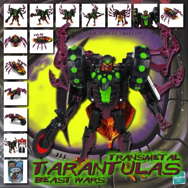 Beast Wars Transmetal Tarantulas