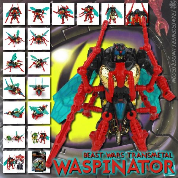 Beast Wars Transmetal Waspinator