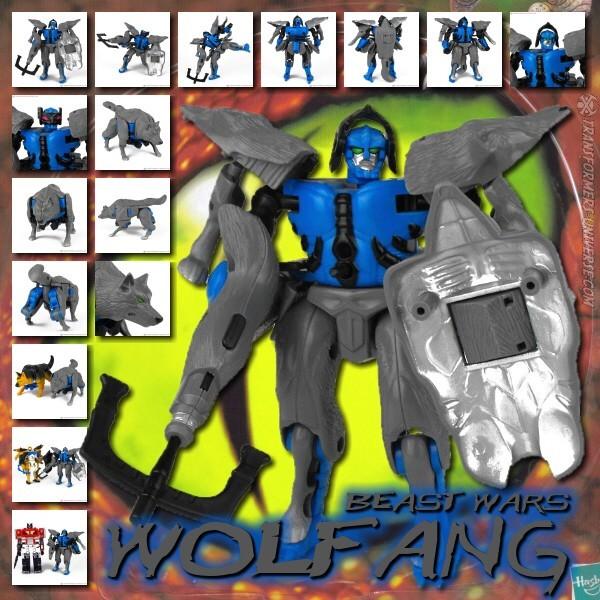 Beast Wars Wolfang