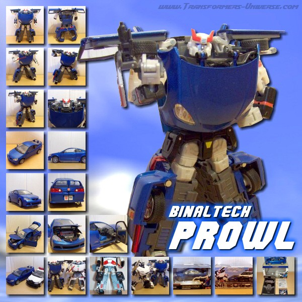 Binaltech BT-15 Prowl Vivid Blue
