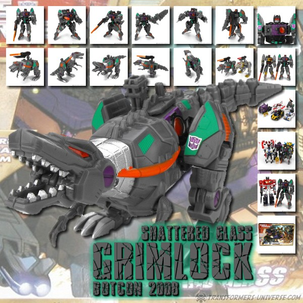 Botcon Exclusives  Grimlock (2008)
