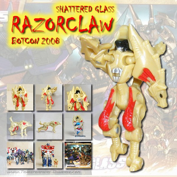 Botcon Exclusives  Razorclaw (2008)