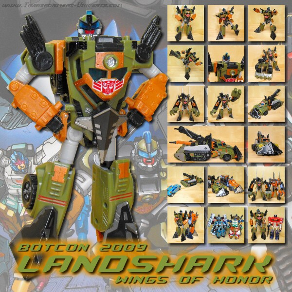 Botcon Exclusives  Landshark (2009)