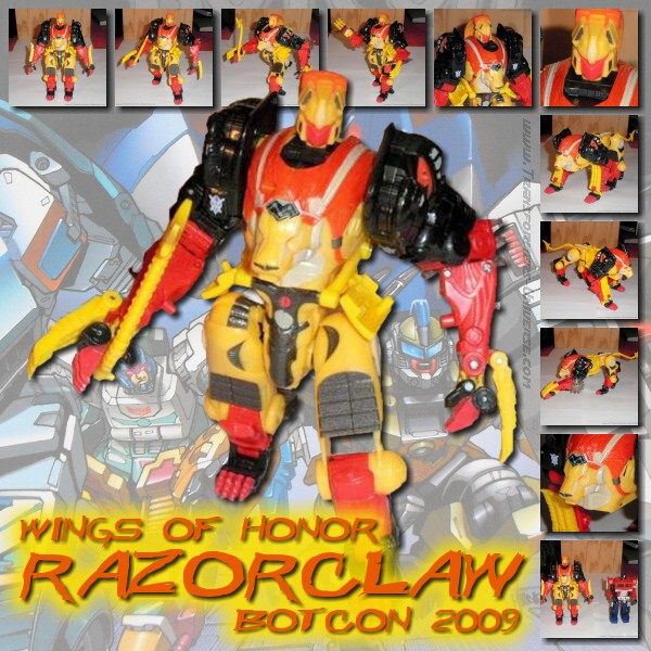 Botcon Exclusives  Razorclaw (2009)