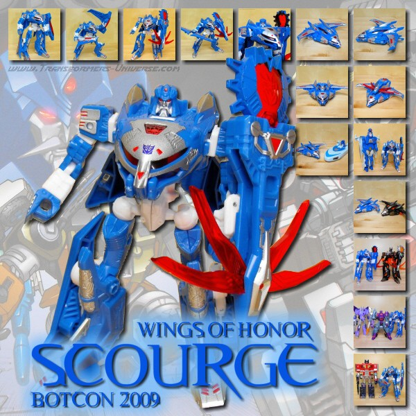 Botcon Exclusives  Scourge (2009)