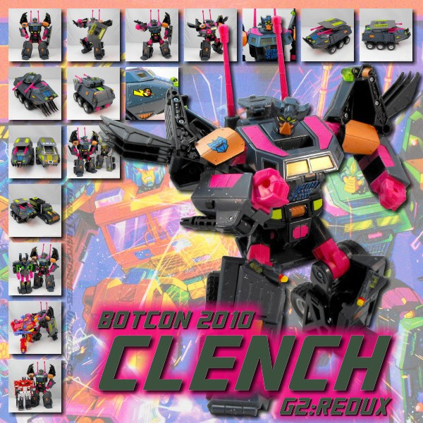 Botcon 2010 Clench