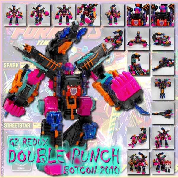 Botcon Exclusives  Double Punch (2010)