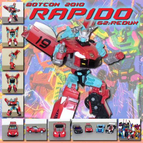 Botcon Exclusives  Rapido (2010)