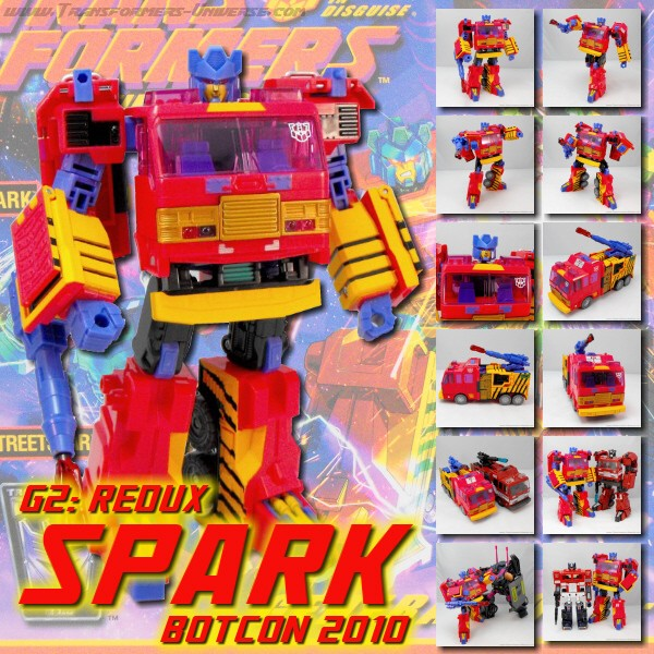 Botcon Exclusives  Spark (2010)