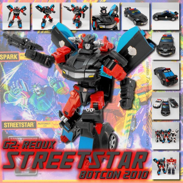 Botcon Exclusives  Streetstar (2010)