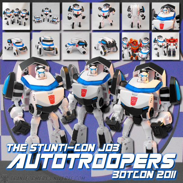 Botcon Exclusives  Autotrooper (2011)