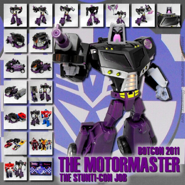 Botcon Exclusives  Motormaster (2011)