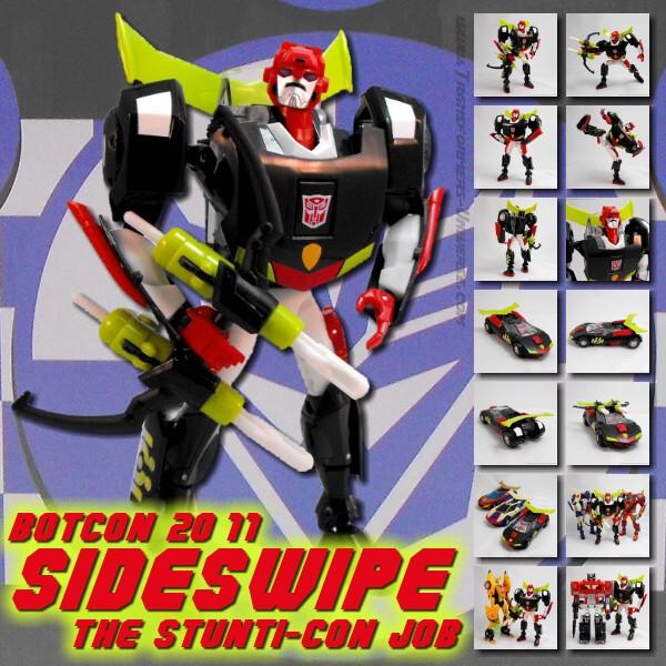 Botcon 2011 Sideswipe