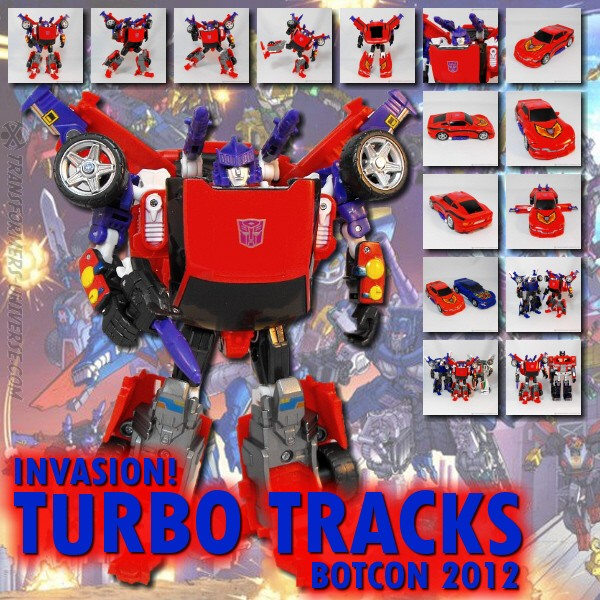 Botcon 2012 Turbo Tracks