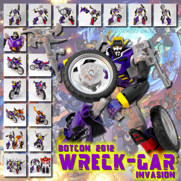 Botcon Exclusives  Wreck-Gar (2012)