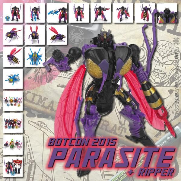 Botcon 2015 Parasite & Ripper
