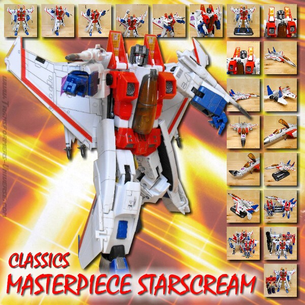 Classics Masterpiece Starscream