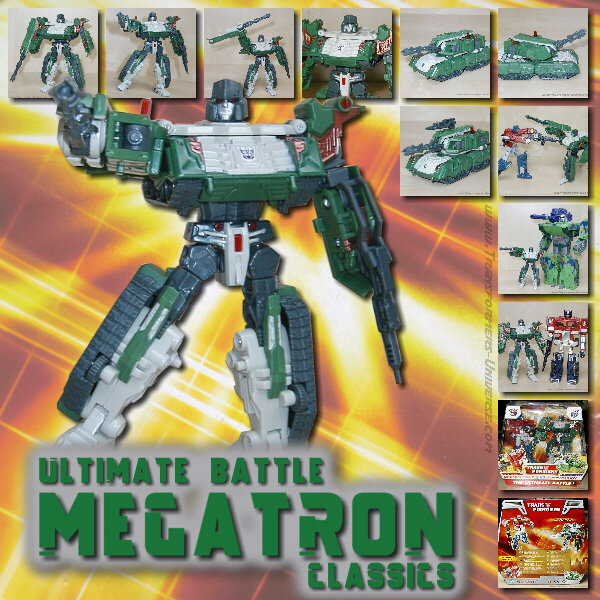 Classics Megatron Ultimate Battle