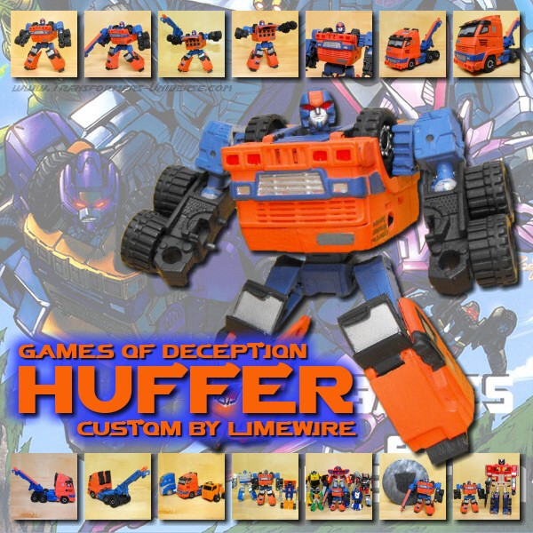 Custom Botcon 2007 Huffer