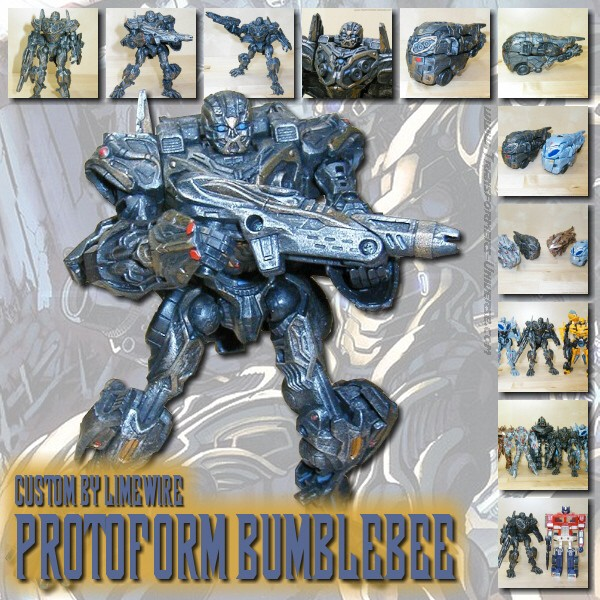 Custom Movie Protoform Bumblebee