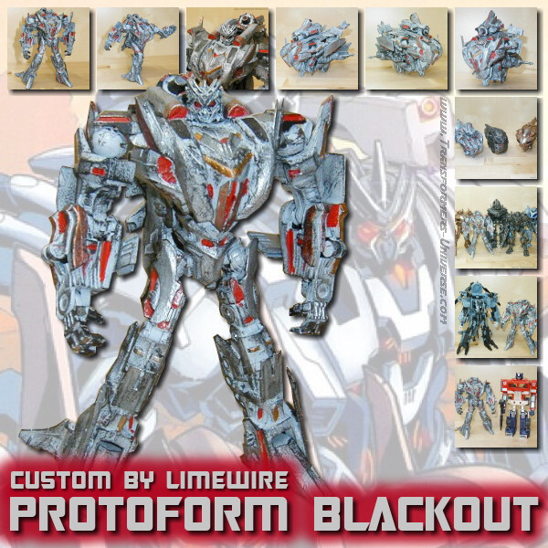 Custom Movie Protoform Blackout