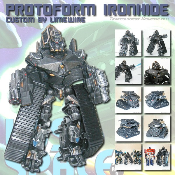 Custom Movie Protoform Ironhide
