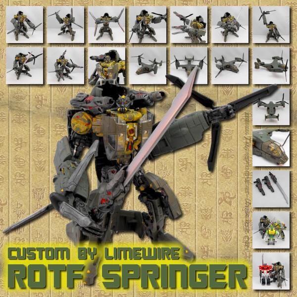 Custom ROTF Springer