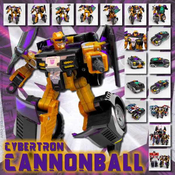 Cybertron Cannonball