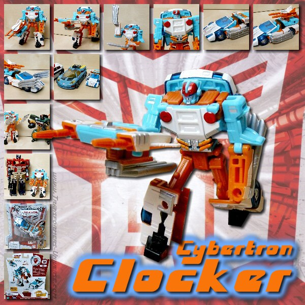 Cybertron Clocker