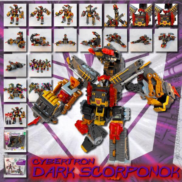 Cybertron Dark Scorponok