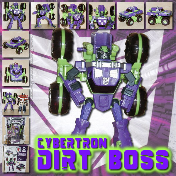 Cybertron Dirt Boss