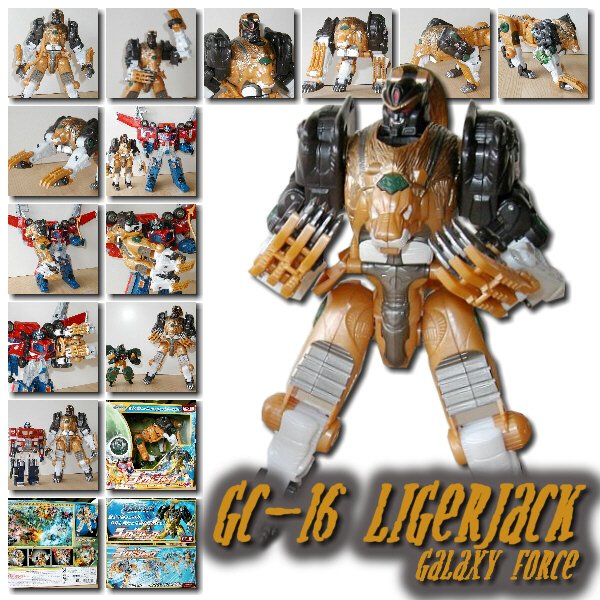 Galaxy Force GC-16 Ligerjack