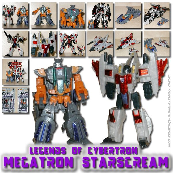 Legends of Cybertron Megatron & Starscream