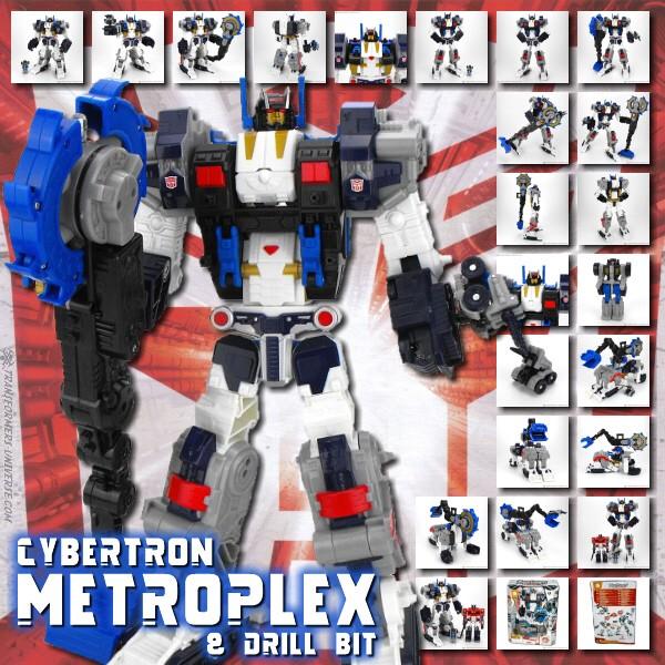 Cybertron Metroplex