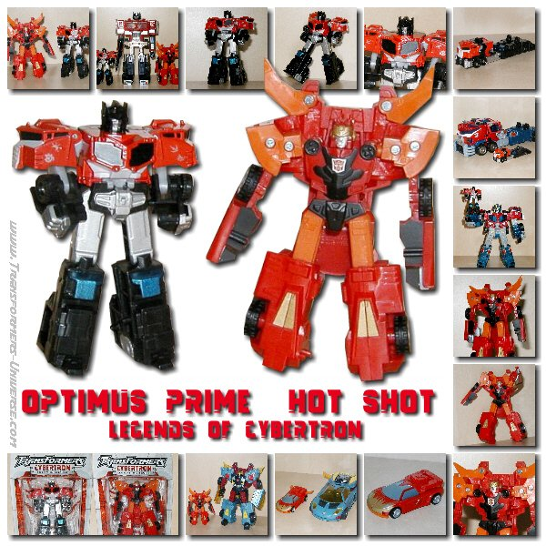 Legends of Cybertron Optimus Prime & Hot Shot