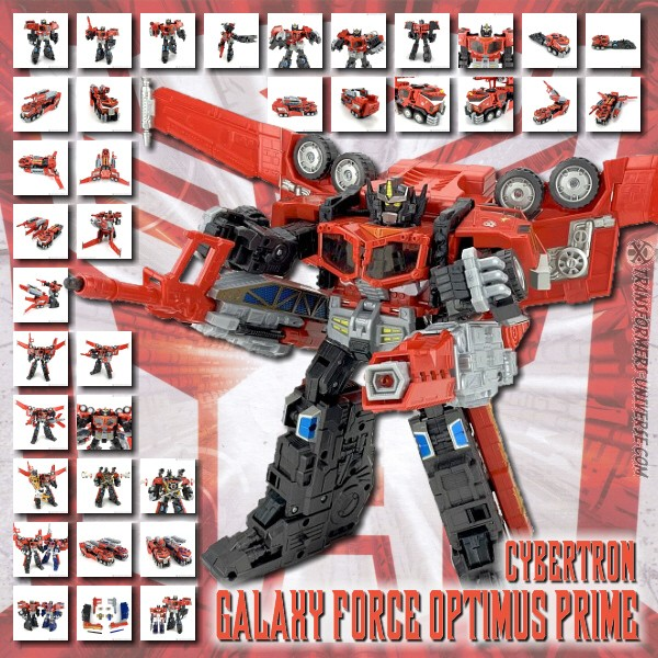 Cybertron Galaxy Force Optimus Prime