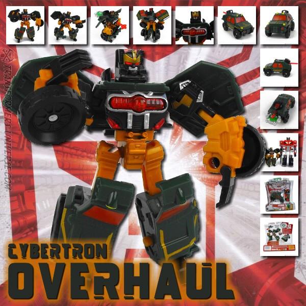 Cybertron Overhaul