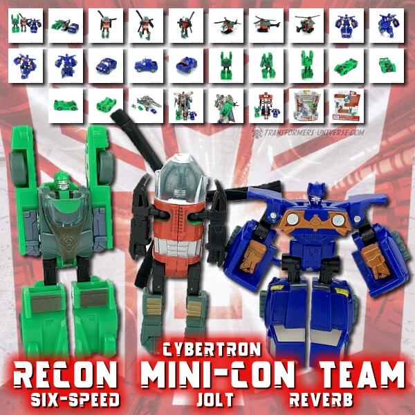 Cybertron Recon Minicon Team
