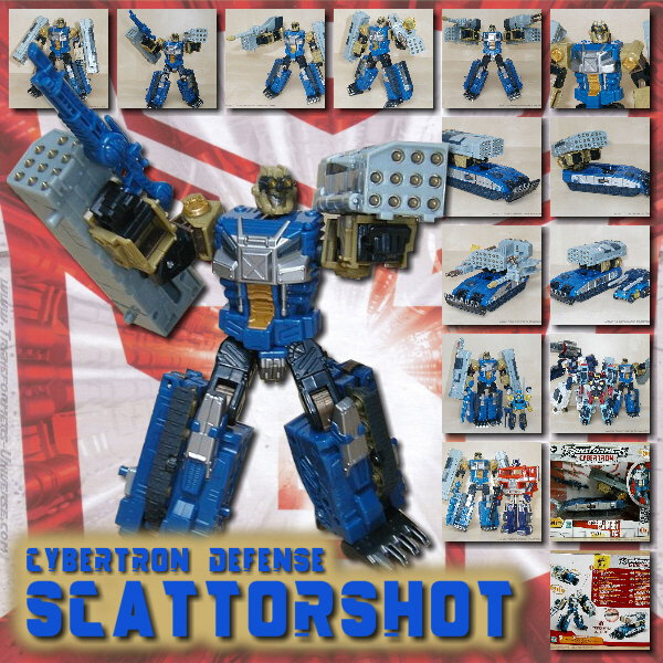 Cybertron Scattorshot Defence