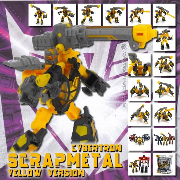 Cybertron Scrapmetal Yellow