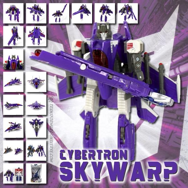 Cybertron Skywarp