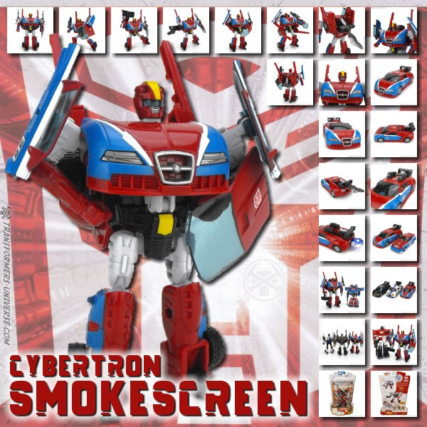 Cybertron Smokescreen