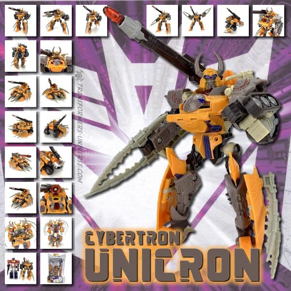 Cybertron Unicron