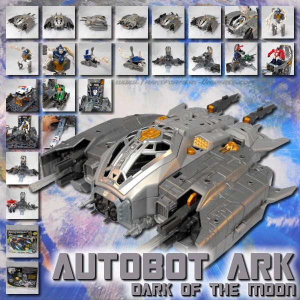 DOTM Autobot Ark & Roller