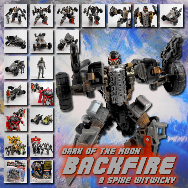 DOTM Backfire & Spike Witwicky