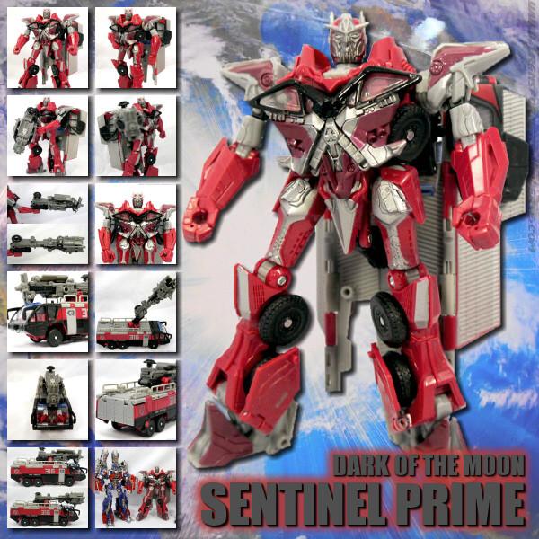 DOTM Sentinel Prime Voyager