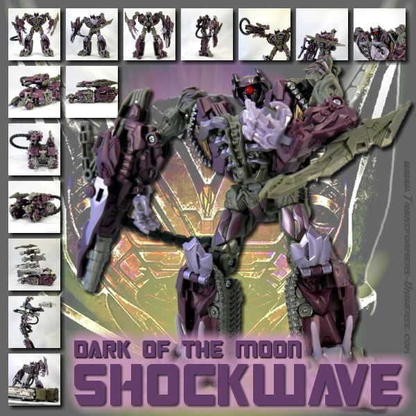 Transformers Dotm Shockwave Transformers Universe Dotm